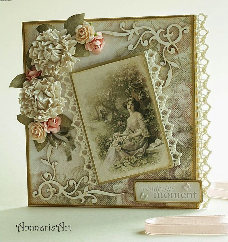 Romantic / Shabby Chic / Valentines Day / Wedding | Cards ...