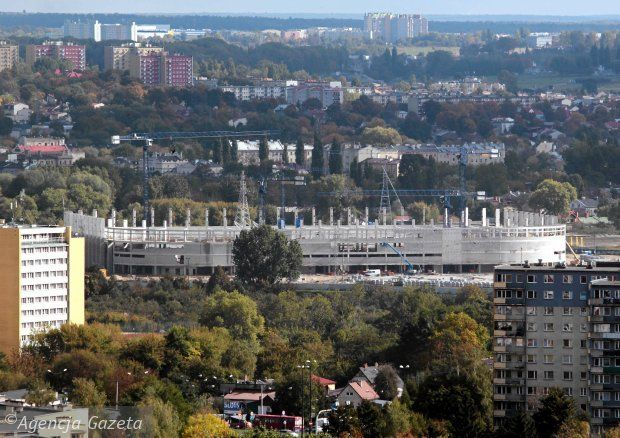 Stadion Miejski, Oct 2013.