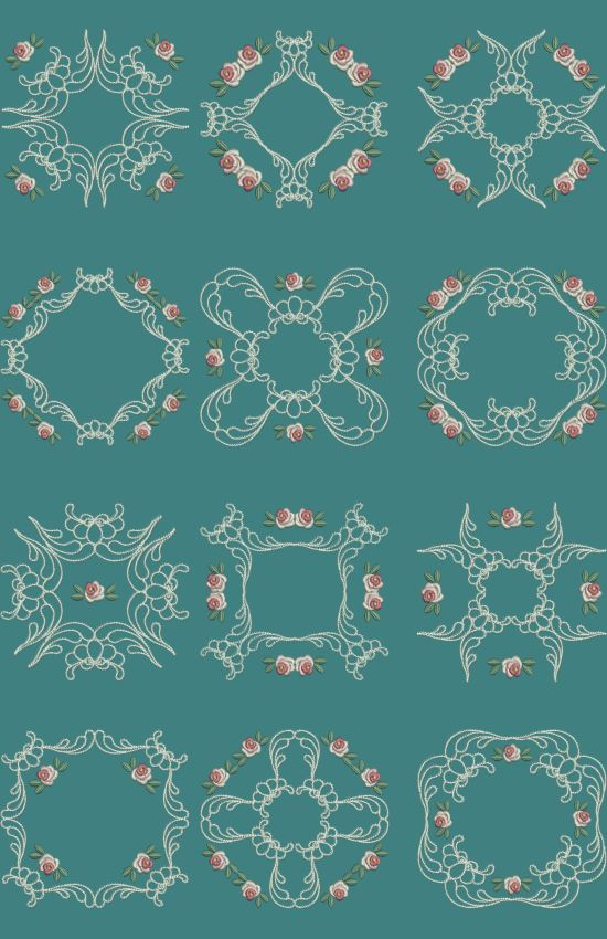 TS908 - #Applique #Quiltblocks 3 These Applique Quiltblocks can be done in various ways. You can stitch them using Printed Fabric to make a two tone block. Stitch them using the same fabric for the applique and backing to make a single tone block or just skip the first two colors on the design to make a normal quiltblock. The choice is all yours!!! http://www.threadsnscissors.com/applique/954-ts908-applique-quiltblocks-3  #threadsnscissors #embroidery #machineembroidery