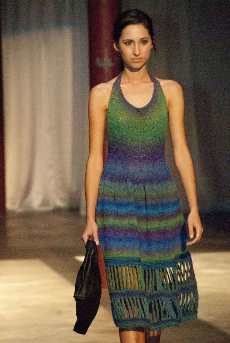 halter knitted dress | Keep the Glamour | BeStayBeautiful.