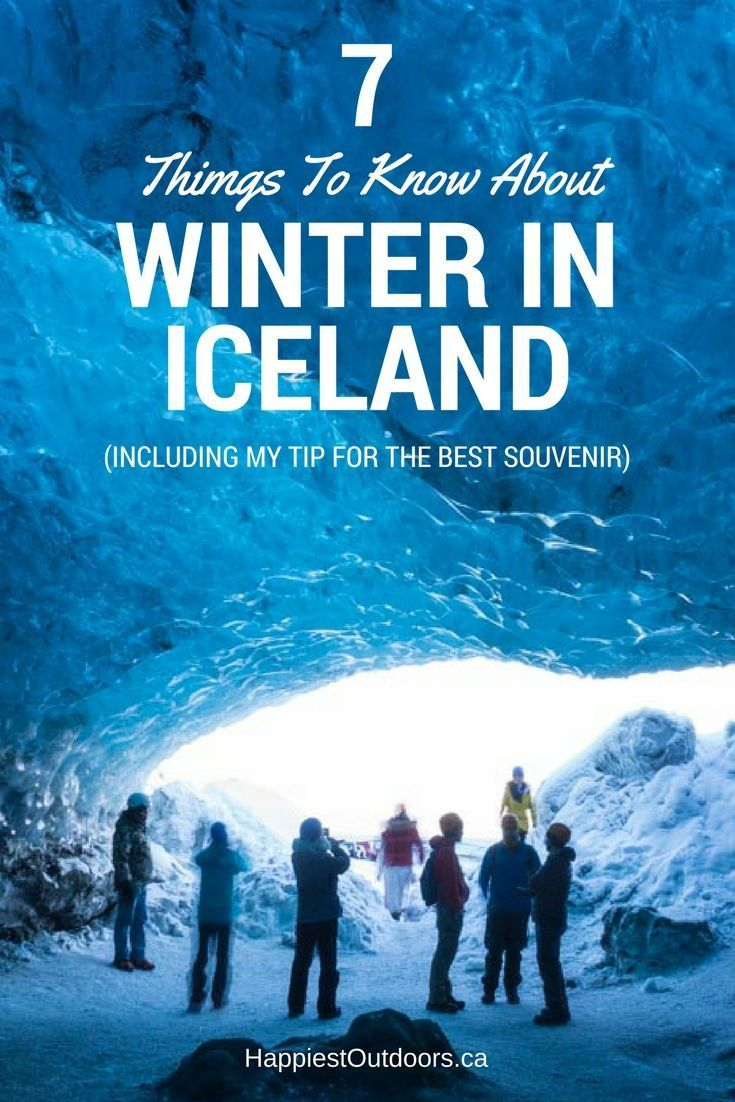 7 Things You Might Not Know About Winter in Iceland... including my pick for the best Icelandic winter souvenir. Iceland winter travel. Travelling to Iceland in Winter.