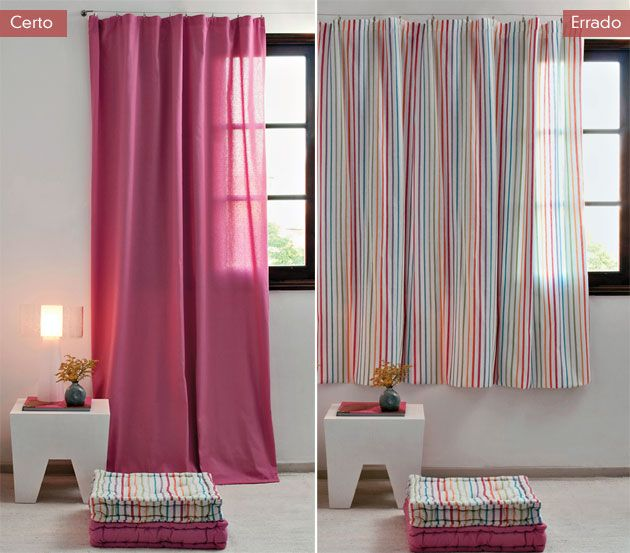 As cortinas modernas recorrem a cores, padrões e estilos de forma a valorizar o espaço onde são colocadas. CLIQUE AQUI.