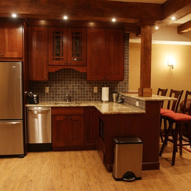 basement kitchen ideas design pictures remodel decor and ideas page 12 - Basement Kitchen Ideas Small
