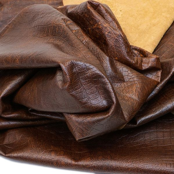 Sable Brown Oil Tan Cowhide Leather **BY THE SQ FOOT!!! Springfield Leather Co