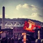gialla come il ☀ rossa come il ❤ mio!! #asroma #rome #stadiolimpico #roma #sunset #soccer #ddr #totti #2012 #forzaroma #followers #followforfollow #like #totti10 #calcio | RomaGram.me le foto e immagini #asroma da Instagram