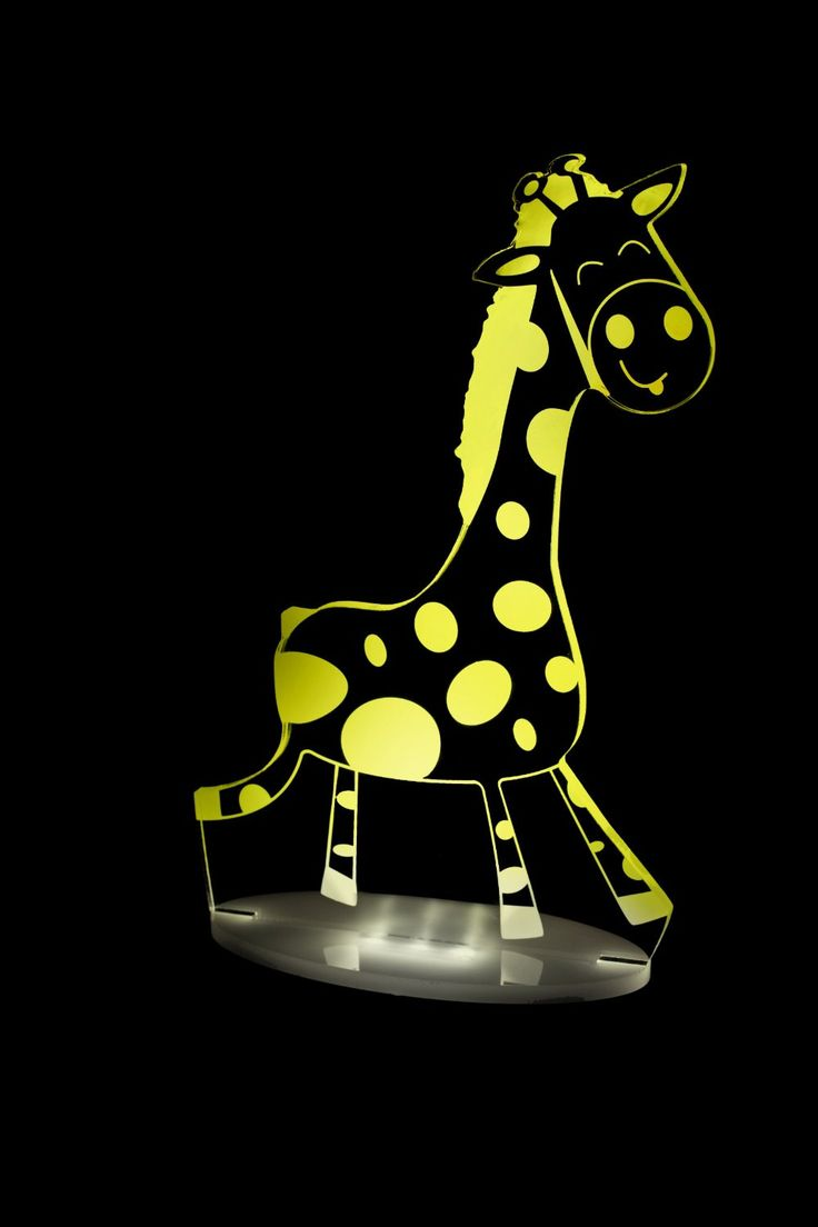 Jungle Giraffe Children's multi coloured LED Night Light with remote control. Choose colours, dimmer, set timer, auto colour and more! **UK or EU plugs now available!**: Amazon.co.uk: Baby