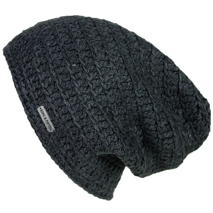 - Description - Specs - Washing - Mens Slouchy Beanie - This over-sized beanie…