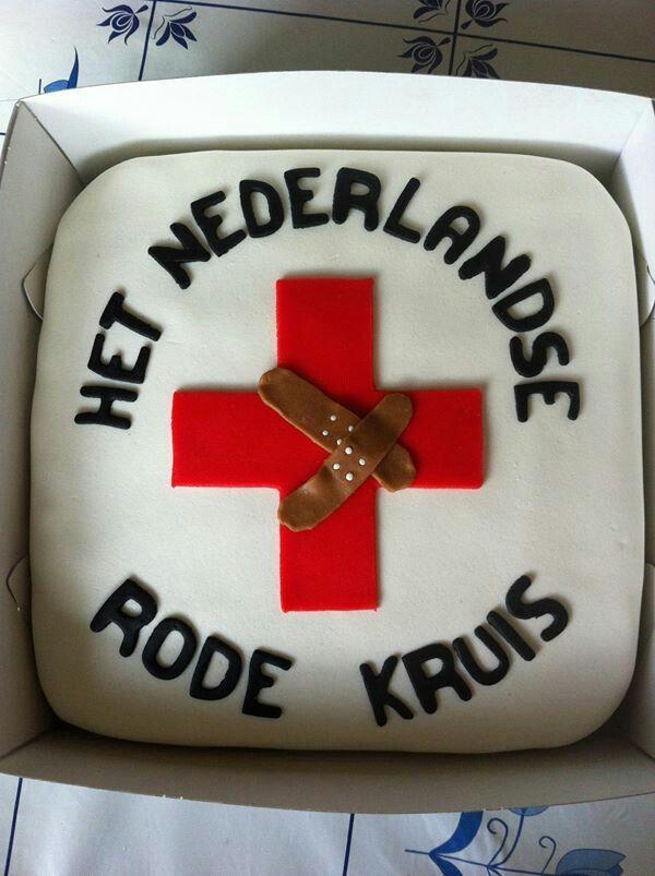 Taart het Rode Kruis