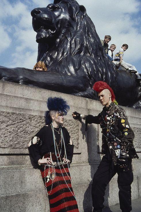 7 & 8.   30 Vivid Photos From London's Punk Past