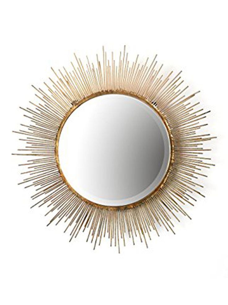 Golden Burst Mirror
