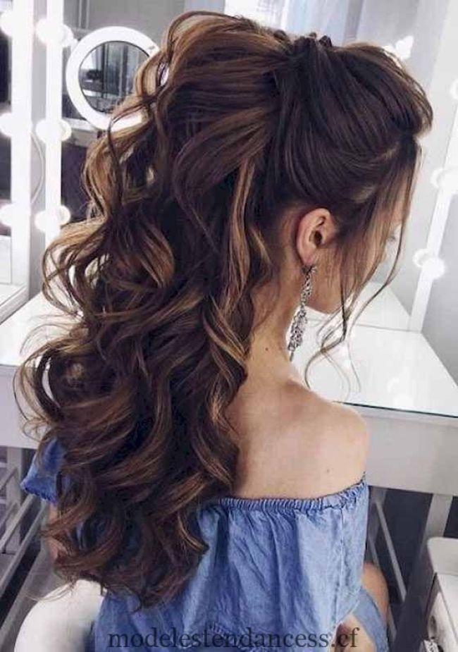 Trouvez Votre Coiffure De Bal Parfaite Pour Un Effet De Tete Dans La Soiree Coiffure Effet Hair Parfaite Soiree Trouvez Tendances De La Mod Hair Styles Long Hair Styles Wedding