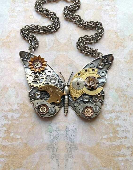 pretty much anything steampunk but I really love steampunk butterflies and keys