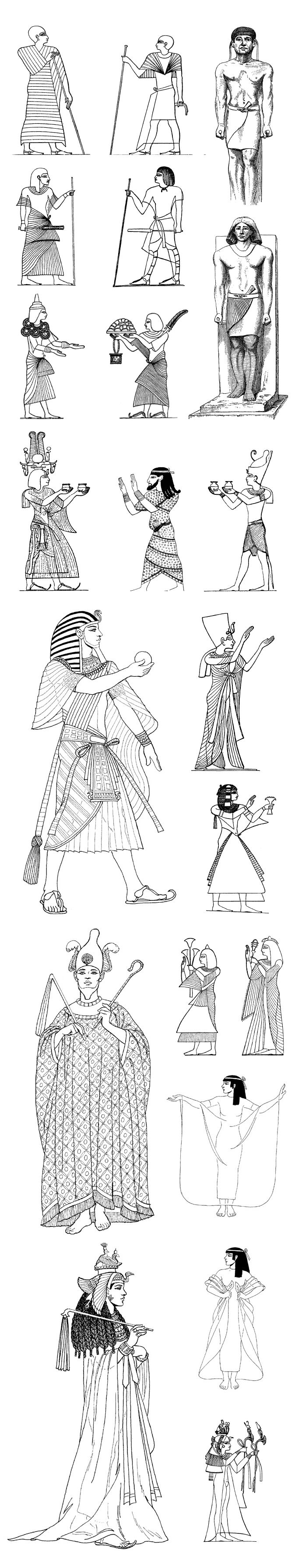 Pharaohs, queens, Egypt