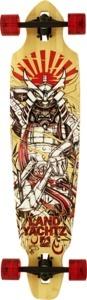 "Landyachtz Bamboo Battle Axe Samurai Complete Downhill Longboard Skateboard - 9.5"" x 42""    $229.99"