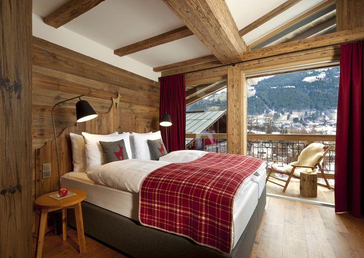 Schöne Chalets in den Kitzbühler Alpen