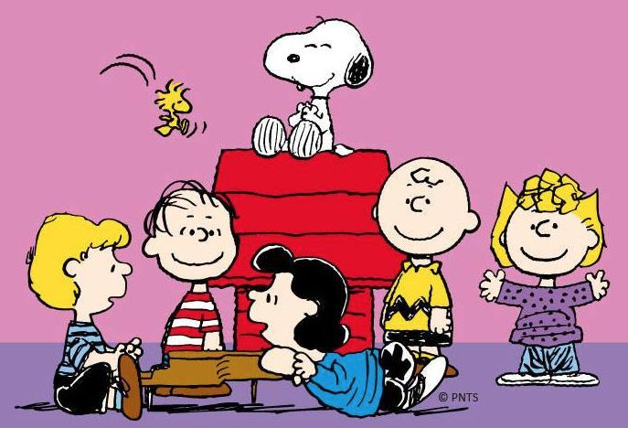 die peanuts comicfigur charlie brown linus snoopy