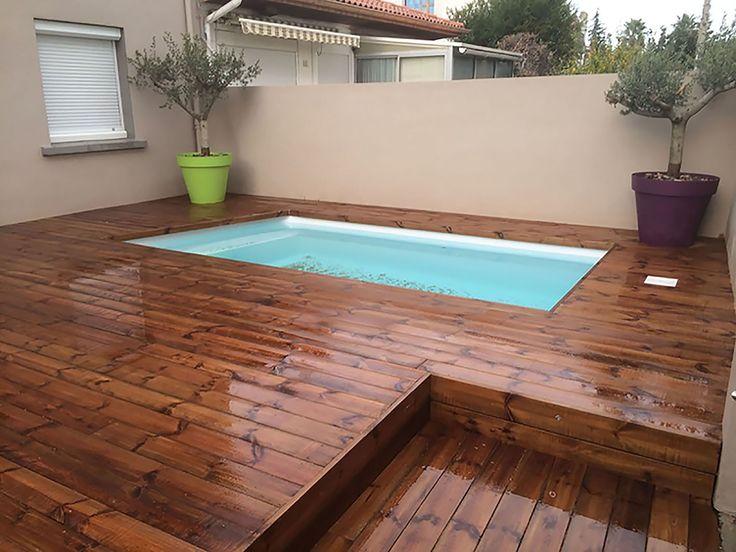 Les 25 meilleures id es de la cat gorie piscine coque sur for Coque mini piscine