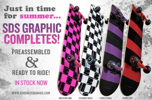 Get cheap SDS Skateboards Checkered Skateboard Complete Color: Pink Checkered - http://kcmquickreport.com/get-cheap-sds-skateboards-checkered-skateboard-complete-color-pink-checkered/