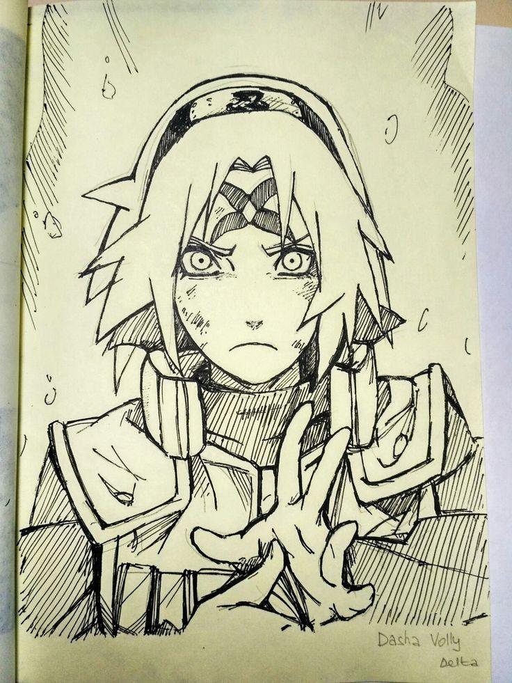 Наруто Узумаки Naruto Сакура Харуно Dasha Volly ∆elta