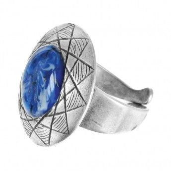 Anillo Plata Lilly Blue Franck Herval http://www.tutunca.es/anillo-plata-lilly-blue-franck-herval