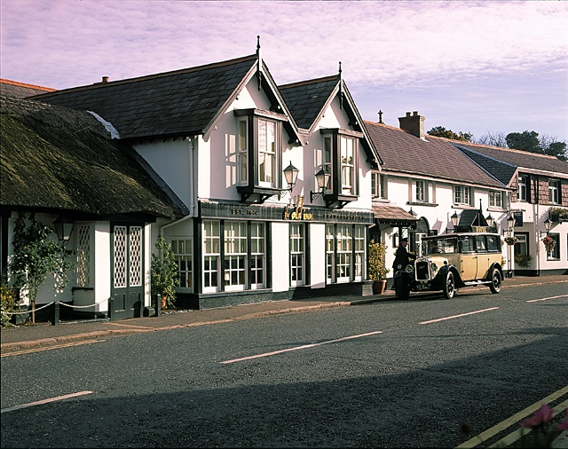 The Old Inn, Crawfordsburn, Northern Ireland--stayed there several times--WOW!