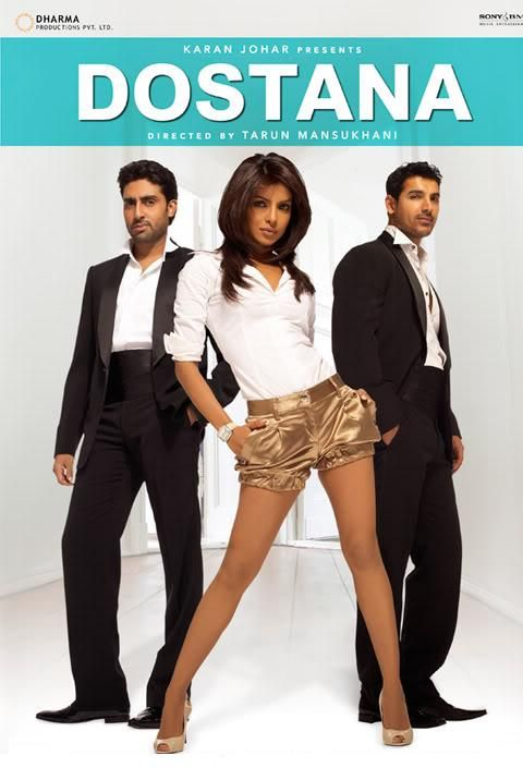 Dostana (2008) Hindi Movie 400MB Free Download