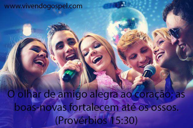 Versículos sobre amizade - Mensagem de amizade - vivendo Gospel