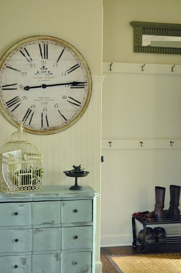 Large Wall Clock In Foyer : Best images about foyers on pinterest hall tree bench