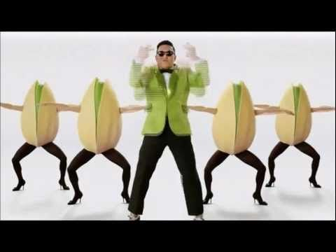 Gangnam Style Pistachio Super Bowl Commercial 2013  So that happpened.