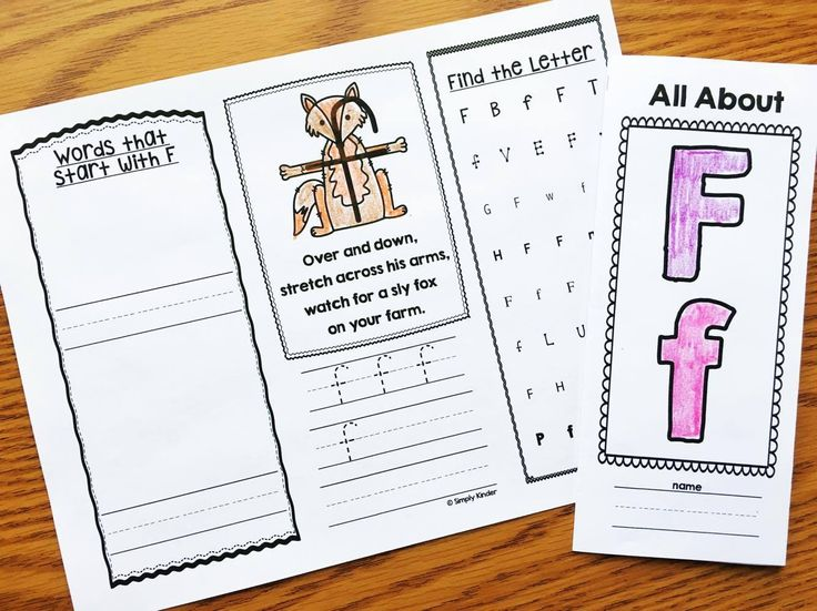 Keep your parents informed with these Alphabet Brochures. Each includes how to write the letter correct, printing and identifying letters, as well as a at home link activity.