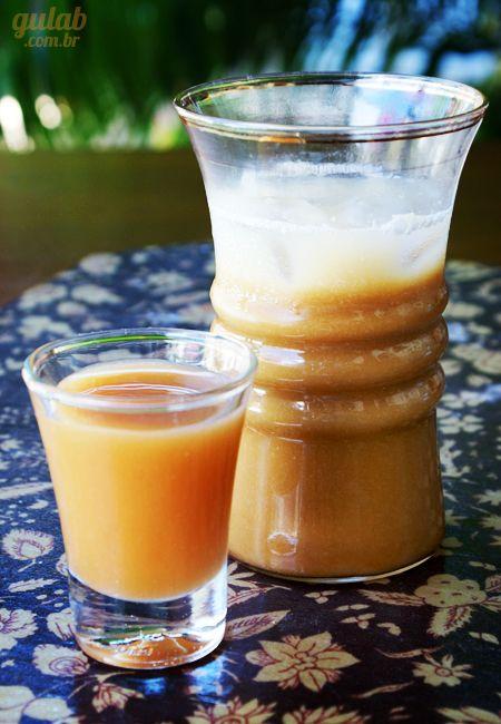 Café gelado com caramelo - Gulab