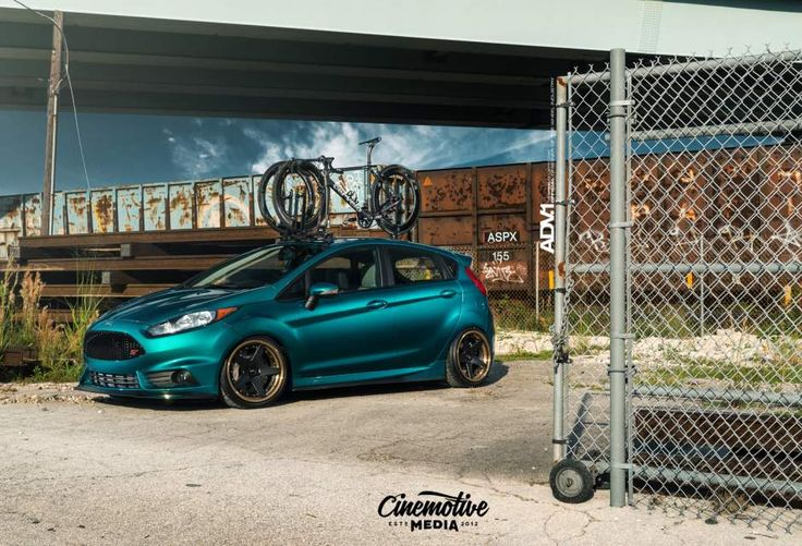 adv1-wheels-ford-fiesta-st-sema-show-2015-modified-lowered-coilovers-black-bronze-5-spoke-G