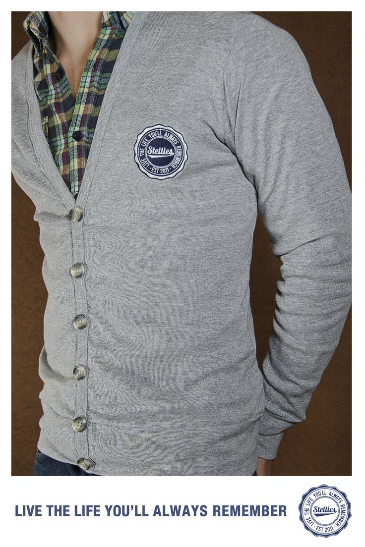 Grey Cardigan by Stellies™ Check us out at www.stelliesTM.co.za © Stellies 2014