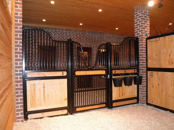 Classic Equine Equipment Horse Stalls in Texas! I think this is the inside of the stall