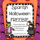Perfect for early Spanish Dual Language Immersion programs, or any Spanish teacher.   Inject a little ghostly spirit into your classroom this seaso...