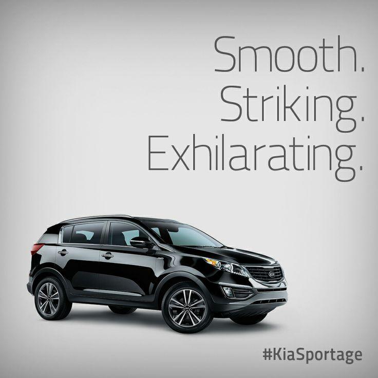 Kia Car Wallpaper: Smooth, Striking, Exhilarating. The Kia Sportage.