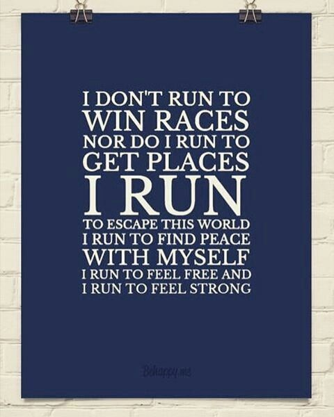 Running, dancing, yoga - it's the inner journey