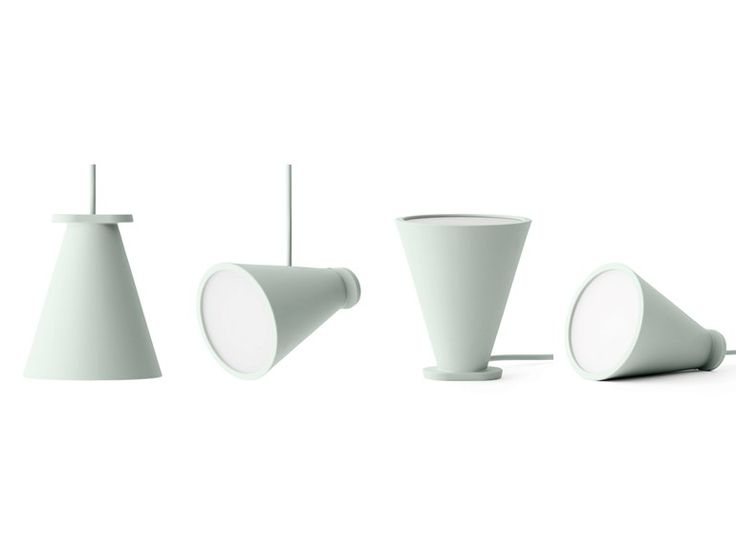 Silicone pendant lamp / floor lamp BOLLARD by MENU design Shane Schneck