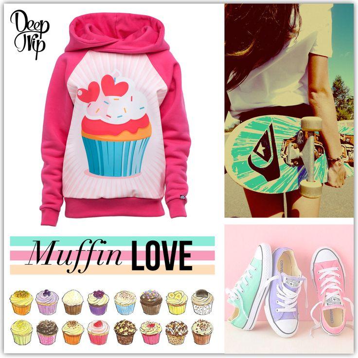 #deeptripstore #deeptrip #pink #muffin #cupcake #longboard #skate #girls