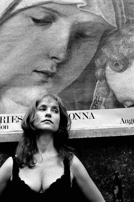 Isabelle Huppert in New York by Leonard Freed