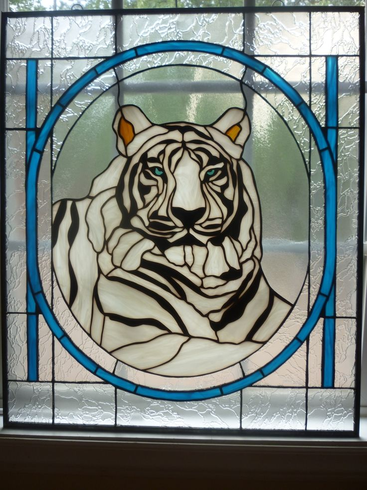 Free Stained Glass Patterns Cats