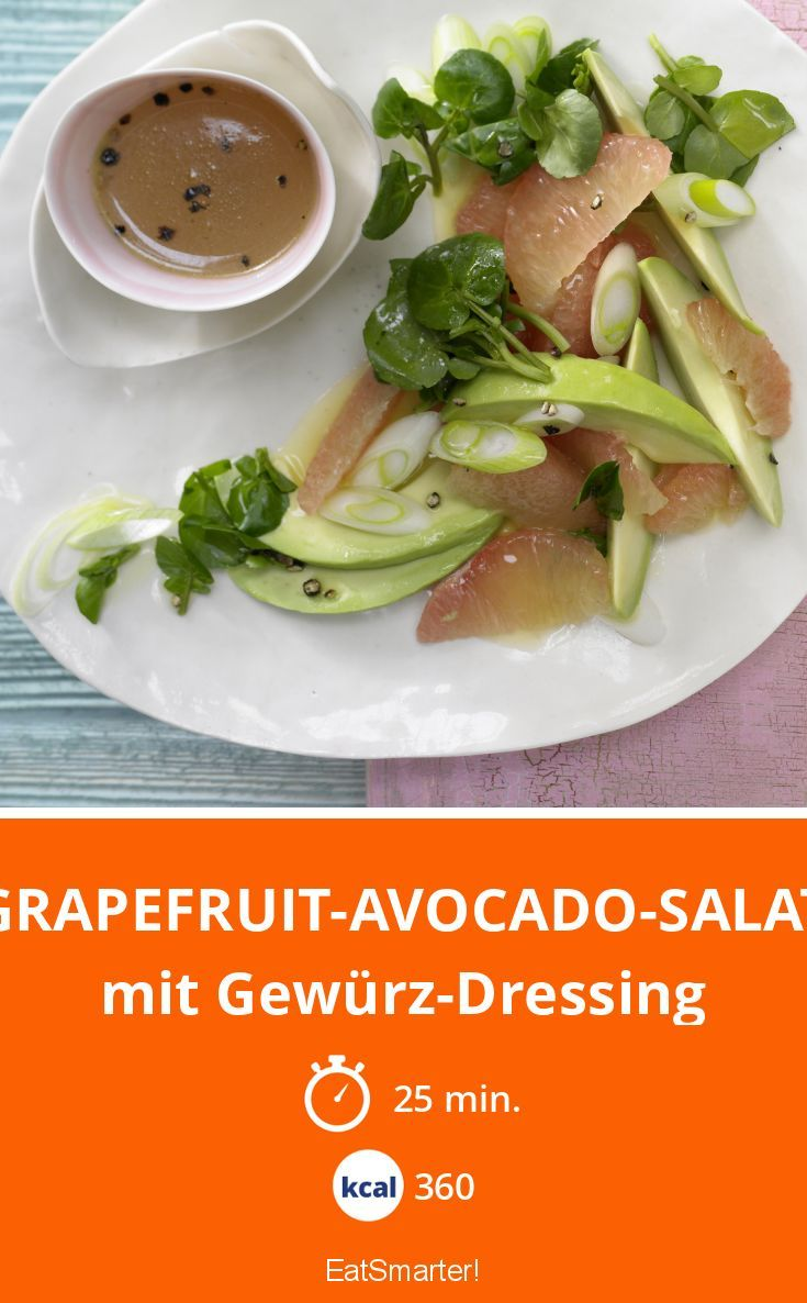 Grapefruit-Avocado-Salat