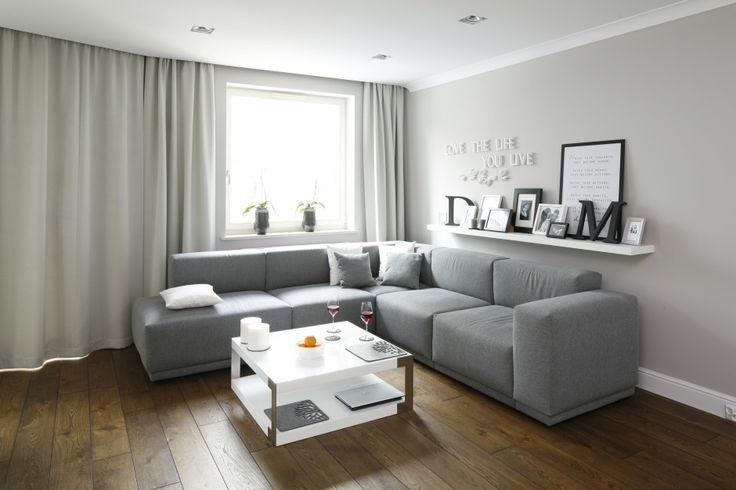 Szary salon - zobacz najciekawsze propozycje architektów  - zdjęcie numer 1