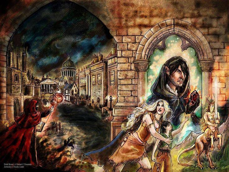 Dark Brand cover illustration #fantasycreatures #fantasyart #coverart #coverillustration #victorianfantasy