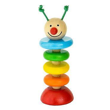 Wooden Moving Caterpillar - Bobo