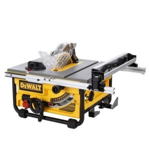 DEWALT, 10 in. 15-Amp Compact Job Site Table Saw, DW745 at The Home Depot - Mobile