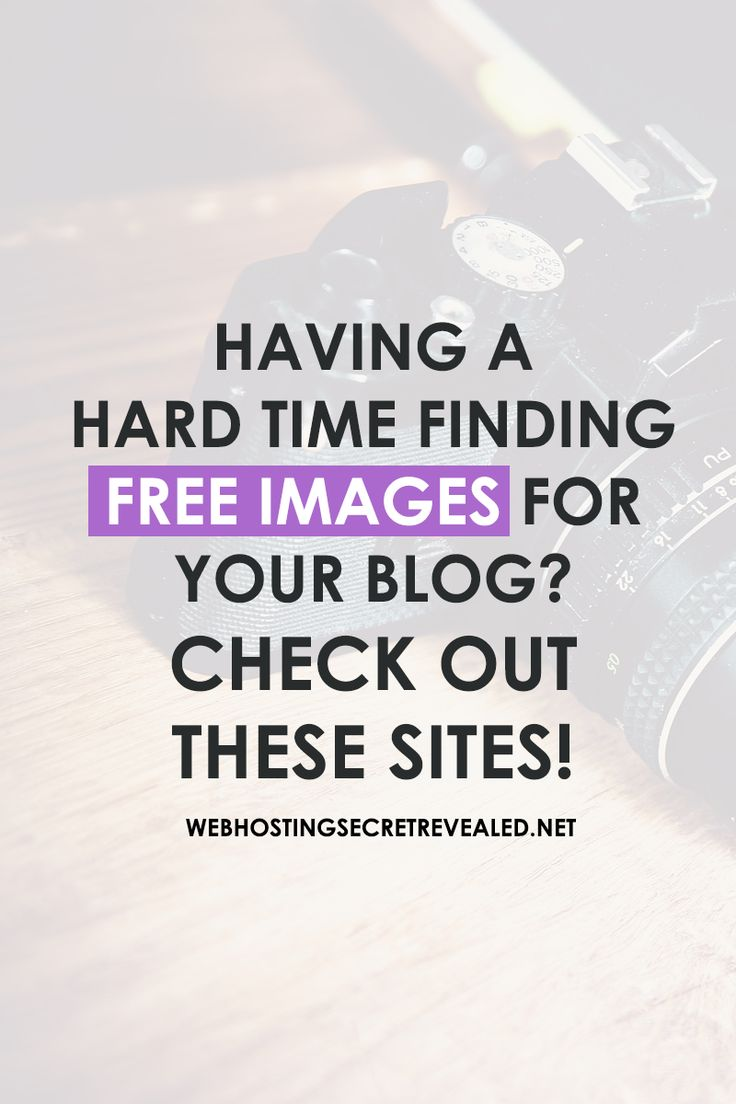 Use high quality images to make a good impression on your visitors. Learn where to find awesome images for your blog. Click the PIN!