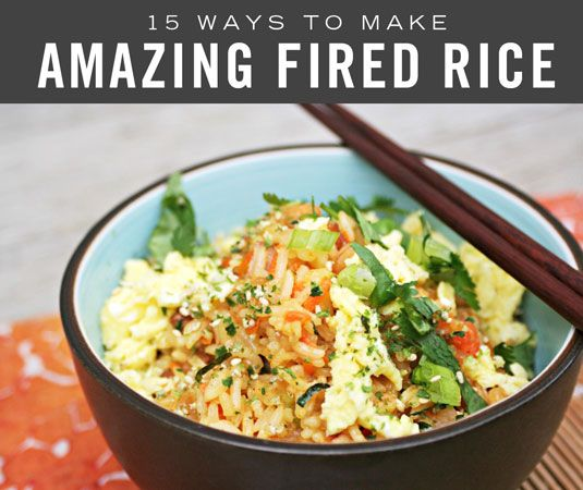 Fried rice often ends up being an afterthought. But here's the thing — really good fried rice can totally handle the spotlight. In fact, it wants to be front and center, filling your dinner plate with all kinds of deliciousness. Let the fried rice have what it wants, already. Let it be even more awesome than take-out.