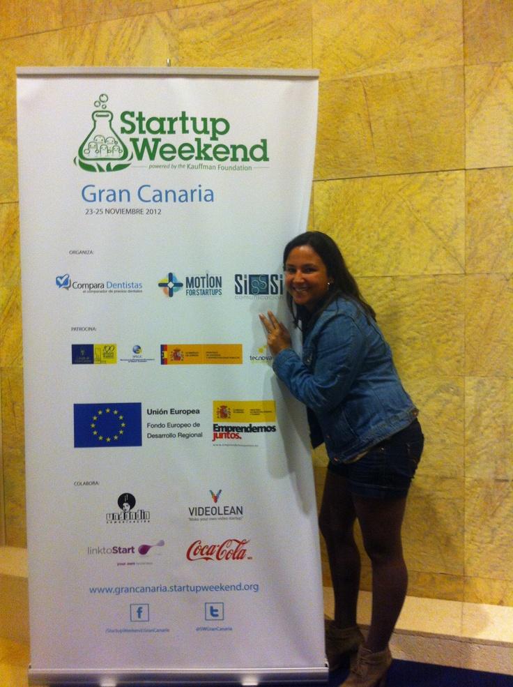 StarupWeekend Gran Canaria, noviembre 2012