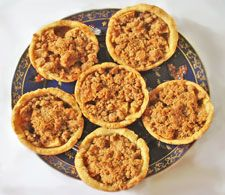 Apple Crumble Tarts